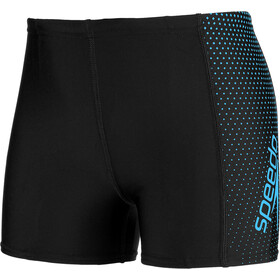 speedo Gala Logo Panel Aquashorts Jungs black/blue
